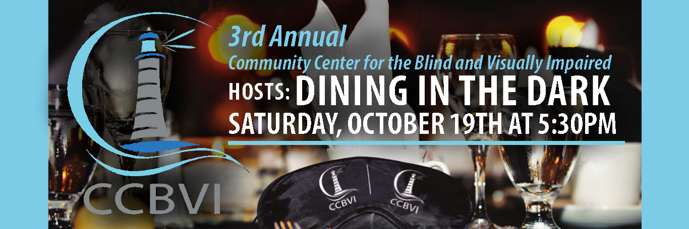 Dining in the Dark 10/19 5:30PM